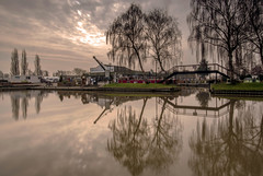 Sawley Marina (Steve Millward) Tags: longexposure reflection water river landscape canal d750 20mm sawleymarina