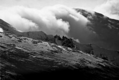 D ridge (threepinner) Tags: winter cloud snow japan canon hokkaido cloudy kodak tokina   daytime hq biei microfilm hokkaidou f35  200mm t70  northernjapan kamifurano   mttokachidake imagelink mountainsnaps  taisetsunationalpark mtkamifurano d