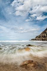 Playa de la ora - LED (Julin Martn Jimeno) Tags: espaa costa nikon gijn asturias playa led marzo villaviciosa cantabrico 2016 largaexposicion marcantabrico ora laora d7000 largaexposiciondiruna