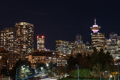 VaNCouVeR (Sonika Arora 604) Tags: park street city longexposure nightphotography light sky skyline night vancouver plane buildings dark stars outdoors lights nikon apartments cityscape nightlights skyscrapers outdoor towers citylife cityscapes naturallight down citylights lighttrails condos longshutter scotiabank highrises vancity harbourcentre lightstreaks lighttrail downtownvancouver crabpark nikonphotographer nikonphotography nikonphotographers explorebc explorecanada explorevancouver