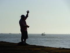 puerto eten - chiclayo - peru (diazeg) Tags: peru mar cielo pescador