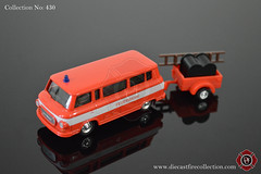No. 430 | GRELL | Barkas B1000 Feuerwehr DDR (www.diecastfirecollection.com) Tags: metal toy fire model collection ddr 164 emergency feuerwehr bomberos department fuoco fd diecast pompiers barkas grell b1000