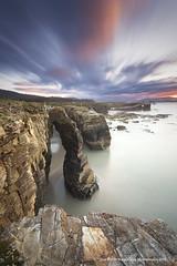 As catedrais (PITUSA 2) Tags: naturaleza atardecer mar natural monumento playa paisaje cielo nubes rocas altura ascatedrais cantabrico lascatedrales pitusa2 elsabustomagdalena