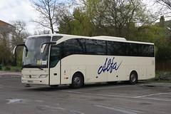 Alfa 66 BN12 CLV (johnmorris13) Tags: mercedes coach tourismo alfatravel bn12clv