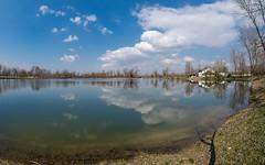 Lake Zajarki (064) (Vlado Ferenčić) Tags: clouds cloudy lakes croatia fisheye hrvatska nikond600 zaprešić sigma1528fisheye zajarki lakezajarki