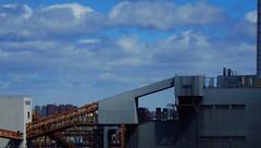 Grand Day: NYC by Car Over Roosevelt Island (catchesthelight) Tags: building industrial manhattan bluesky views rooseveltisland newyorkcityny springvisit travelbycar april2016