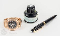 Studio Shots (Driftclub) Tags: ink watch fountainpen wristwatch philippe montblanc nautilus patek swissmade  montblancpen driftclub