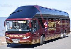 OU15ZWP  Parrys, Cheslyn Hay (highlandreiver) Tags: 2 bus coach rally lancashire hay blackpool coaches starliner neoplan parrys cheslyn zwp ou15 ou15zwp