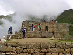 Machu Picchu, Altitude 2,430m, Urubamba Province, Peru (Black Diamond Images) Tags: mountain peru southamerica inca train landscape outdoor hill per machupicchu urubambariver huaynapicchu amricadosul riourubamba aguacalientes amriquedusud perurail zuidamerika sudamrica winaywayna manlypeak republicofperu repblicadelper pachacuti urubambaprovince pachacutiincayupaqui pachacutiyupaqui yupaqui