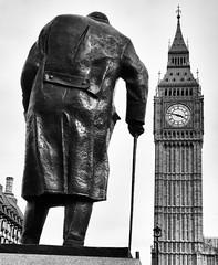 London (that Geoff...) Tags: greatbritain bw sculpture white black london monochrome westminster bronze canon prime mono unitedkingdom bigben powershot clocktower parliamentsquare churchill sir winston minister g7x ivorrobertsjones