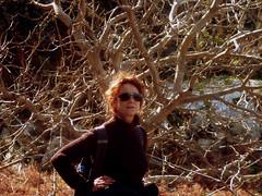 Ikaria's remotest hinterland 45 - Sofia feeling great (angeloska) Tags: portrait woman march ikaria aegean greece pezi hinterland hikingtrails   langada ikarian    vrakades  opsikarias