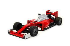 Ferrari SF16-H (1) (Noah_L) Tags: red white car racecar season lego f1 ferrari creation formulaone formula1 moc 2016 noahl sf16h