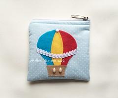 Porta moedas balo (Ana Ribeiro2010) Tags: lembrana balo menino nascimento maternidade chdebeb lembrancinha portamoedas