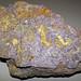 Fluoritized fossiliferous limestone (Mississippian; Hastie Quarry, near