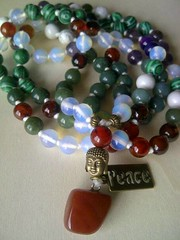 1934272_1621149528201420_4419187204543138922_n (innerjewelz@rogers.com) Tags: handmade traditional jewelry jewellery meditation custom mala 108 mantra intention knotted japamala innerjewelz