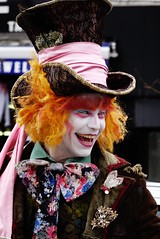 Silly Wonka (Natalia Strokan) Tags: uk portrait london smile bright willywonka streetphotography actor camdentown candidphotography streetactor sonydscrx10