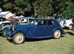 Classic blue car (Matthew Paul Argall) Tags: blue cars car classiccar automobile 110 classiccars bluecar 110film minolta110zoomslrmarkii