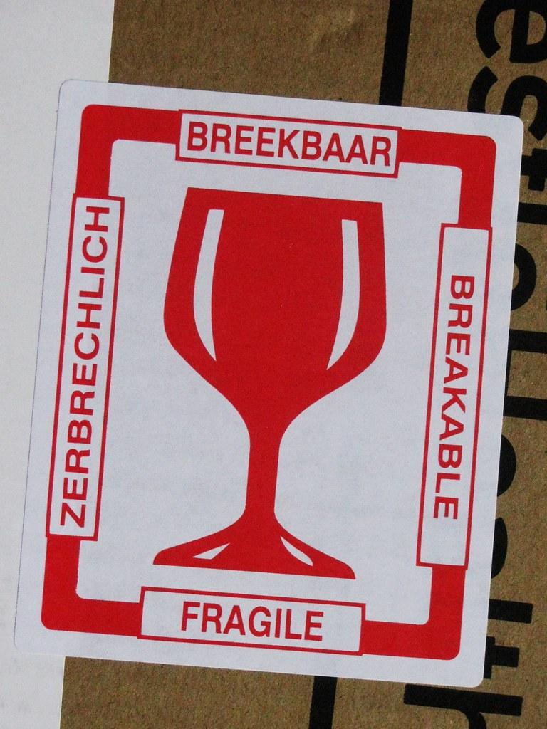 Breekbaarzerbrechlichbreakablefragile streamer020nl tags sticker cheers fragile glas zerbrechlich breakable breekbaar