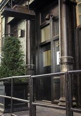 IMG_0261 (kz1000ps) Tags: nyc newyorkcity architecture construction downtown doors cityscape realestate manhattan sidewalk tribeca urbanism development thomasstreet entrances