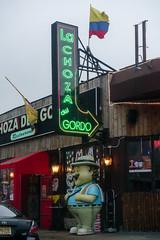 La Choza Del Gordo (nicknormal) Tags: newyork restaurant us unitedstates fat columbia longislandcity gordo choza