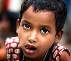 India (mokyphotography) Tags: portrait people india girl face person eyes child persone occhi varanasi ritratto viso bambina visi