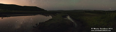 Point Reyes Night Reflections (Marsha Kirschbaum) Tags: california panorama reflection landscape pond lightpollution starrynight milkyway pointreyesnationalseashore schoonercreek starryskies airglow tidemarsh 12191227 marshakirschbaum sonya7rii