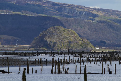 Dumbarton Rock from Port Glasgow