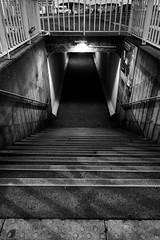 Darkness (Jean-Adrien Morandeau) Tags: blackandwhite white black de la nikon noir angle noiretblanc bretagne grand tunnel uga et blanc barrage rance 18mm