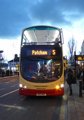 B&H 456 - BK13NZY - FRONT - BRIGHTON - TUE 16TH FEB 2016 (Bexleybus) Tags: bus eclipse brighton hove company and gemini 456 wrightbus bk13nzy