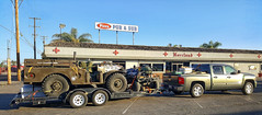 VIA AMERICANA (akahawkeyefan) Tags: toys crazy pickup vehicles trailer kingsburg davemeyer