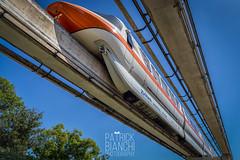 Orange (patchrick84) Tags: florida monorail wdw waltdisneyworld themepark magickingdom monorailorange