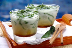 Ice Cendol (Miel Photopgraphy) Tags: bali cold sumatra indonesia dessert java outdoor snack icecubes jelly treat brownsugar coconutmilk streetfood bluepool upscale palmsugar cendol