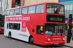 National Express West Midlands Volvo B7TL/Alexander ALX400 4256 (BU51 RVO) (Perry Barr) (john-s-91) Tags: birmingham 4256 heartfm volvob7tl route52a alexanderalx400 nationalexpresswestmidlands bu51rvo
