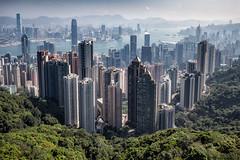 Classic view of Hong Kong (Sunny Herzinger) Tags: travel hk canon hongkong hongkongisland 6d