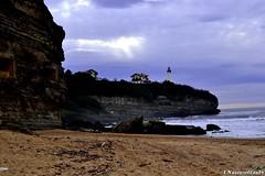 DSC_0003 (Copier) (L.Nazeyrollas 64) Tags: de soleil sable nuages phare biarritz vvf anglet perce