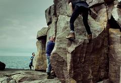 Reiff (13 Monkeys) Tags: old friends film scotland ross rocks climbing negatives reiff wester