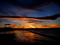 Goodnight Cromarty (ccgd) Tags: sunset beach scotland cromarty gloaming