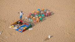 Open air restaurant (rameshsar) Tags: beach colors fuji heights marinabeach lighthuse 50200 xt1 55mmmf pattermsand