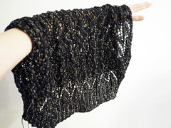 lacy shrug (Marguerite*) Tags: knitting knit shrug ravelry