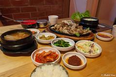 Happy refills at Bulgogi House (Mabel Low Photography) Tags: food house photography nikon korean malaysia petaling kota jaya damansara bulgogi