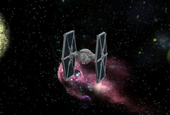 TIE Fighter (LDD Building Instructions) by  I Am Your Father! (Repubrick.com) Tags: starwars lego empire imperial tiefighter ldd starfighter tge galacticempire buildinginstructions repubrickcom