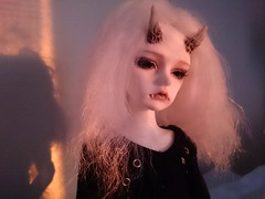 (claudine6677) Tags: 2 ball doll demon devil bjd freddy msd jointed runrise dmon dollzone freddy2