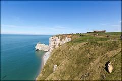 Les Dominants et Domins .. (GK Sens-Yonne) Tags: mer normandie falaise plage manche tretat seinemaritime