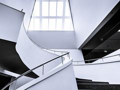 swinging philharmonica (K.H.Reichert) Tags: architecture stairs spiral curves poland treppe polen architektur highkey spiralstaircase szczecin philharmonie architectur kurven wendeltreppe wojewdztwozachodniopomorskie