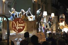 Kings' messengers (Fnikos) Tags: outdoor messenger nightview threewisemen mataró reyes threekings magos magi reyesmagos mataro mensajero remagi
