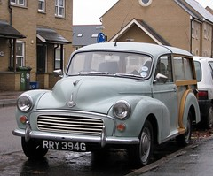 RRY 394G (3) (Nivek.Old.Gold) Tags: 1969 traveller morris minor 1000 1098cc