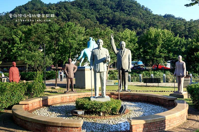 桃園大溪.慈湖紀念雕塑公園&(湖光山色的慈湖紀念雕塑公園&遊客中心)