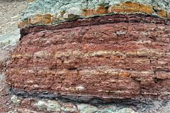 Wanakah Formation (Middle Jurassic; roadcut near Artists Point, Colorado National Monument, Colorado, USA) 4 (James St. John) Tags: monument point marine sandstone colorado formation national artists jurassic shale marginal roadcut siltstone mudstone wanakah mudshale