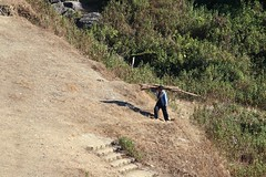 Mizo man at work (Mizoram) (azara ralte) Tags: life india man rural village tribal human hardwork atwork mizo zopa mizoram northeastindia domectic thingpu sialsuk mizoman mizopa