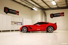 c7_z06_z07_esoteric_329 (Esoteric Auto Detail) Tags: corvette esoteric z06 detailing hre c7 torchred akrapovic p101 suntek z07 gyeon paintprotectionfilm paintcorrection bestlookingcorvette z06images